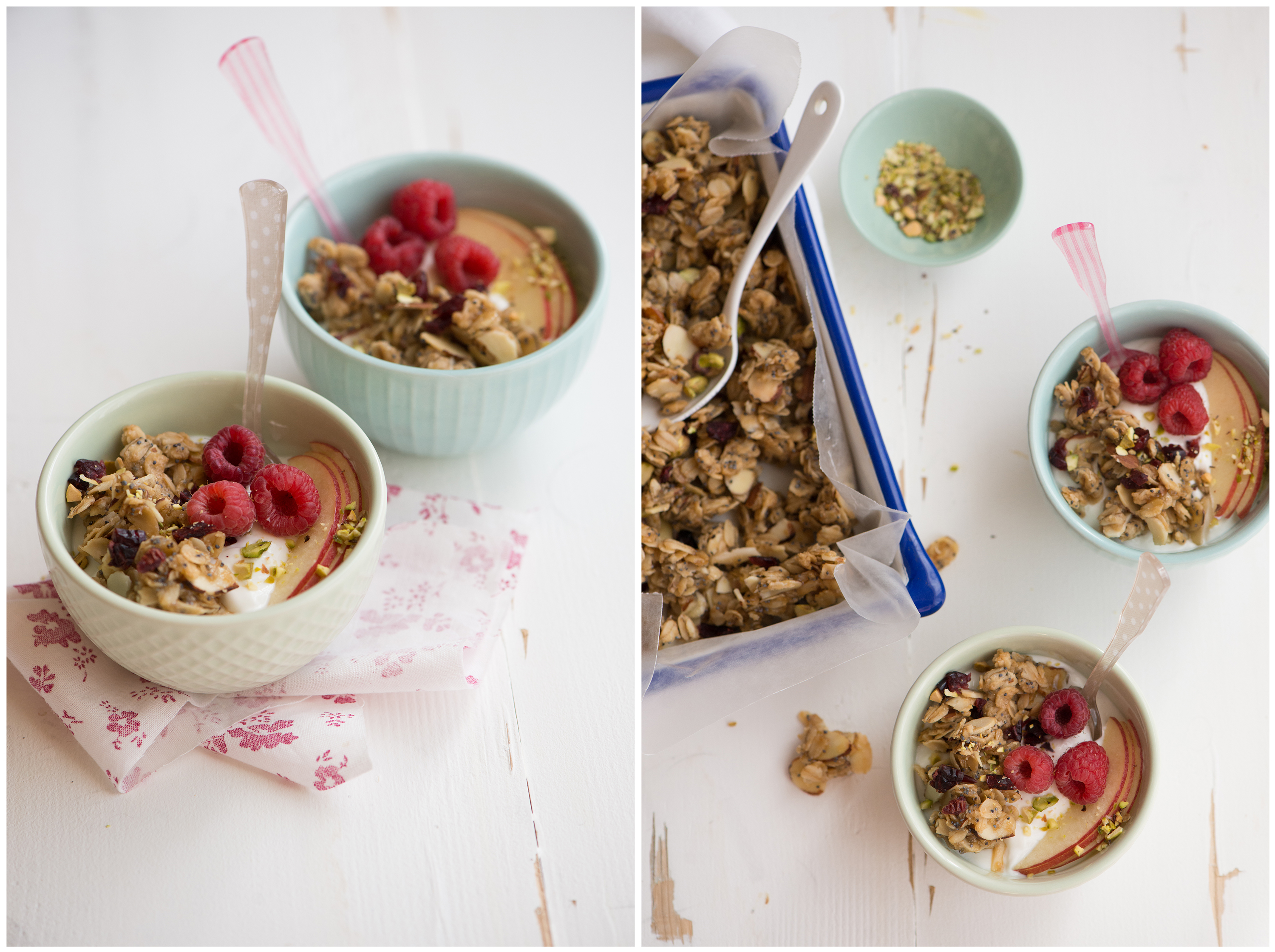 Almond Poppyseed Granola | Now, Forager | Teresa Floyd Photography
