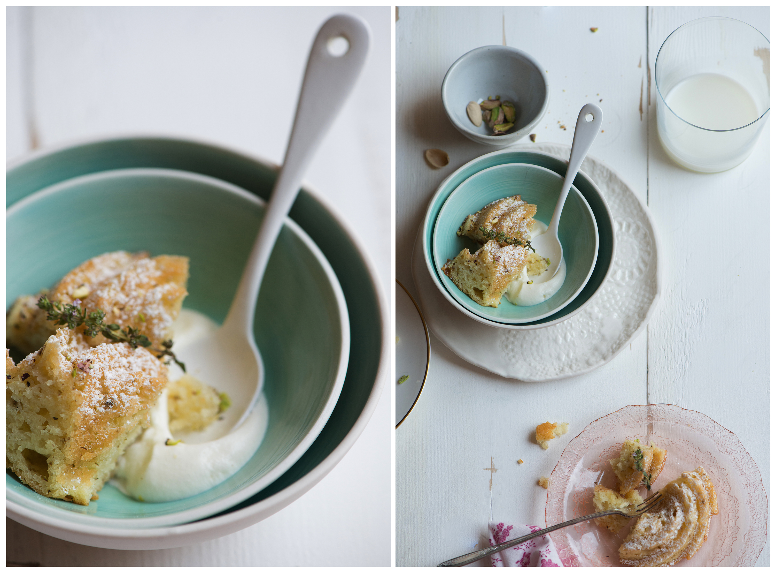 Chamomile Apple Tea Cake | Now, Forager | Teresa Floyd Photography