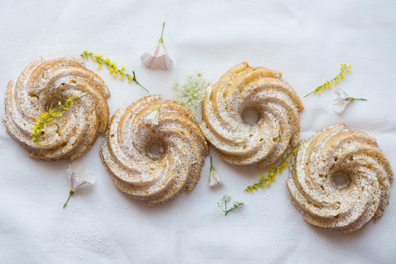 Chamomile Apple Tea Cakes | Now, Forager | Teresa Floyd Photography