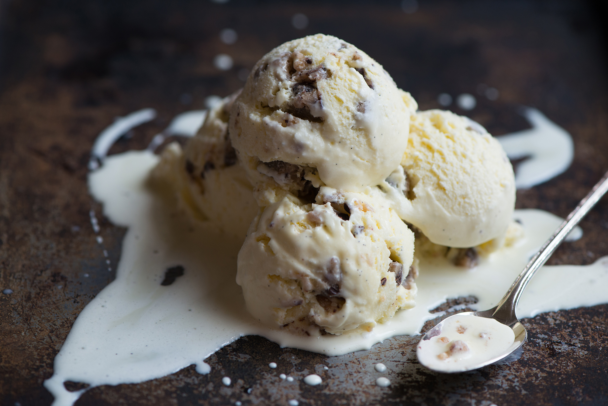 Chocolate Chip Cookie Dough Ice Cream | Now, Forager | Teresa Floyd Photography