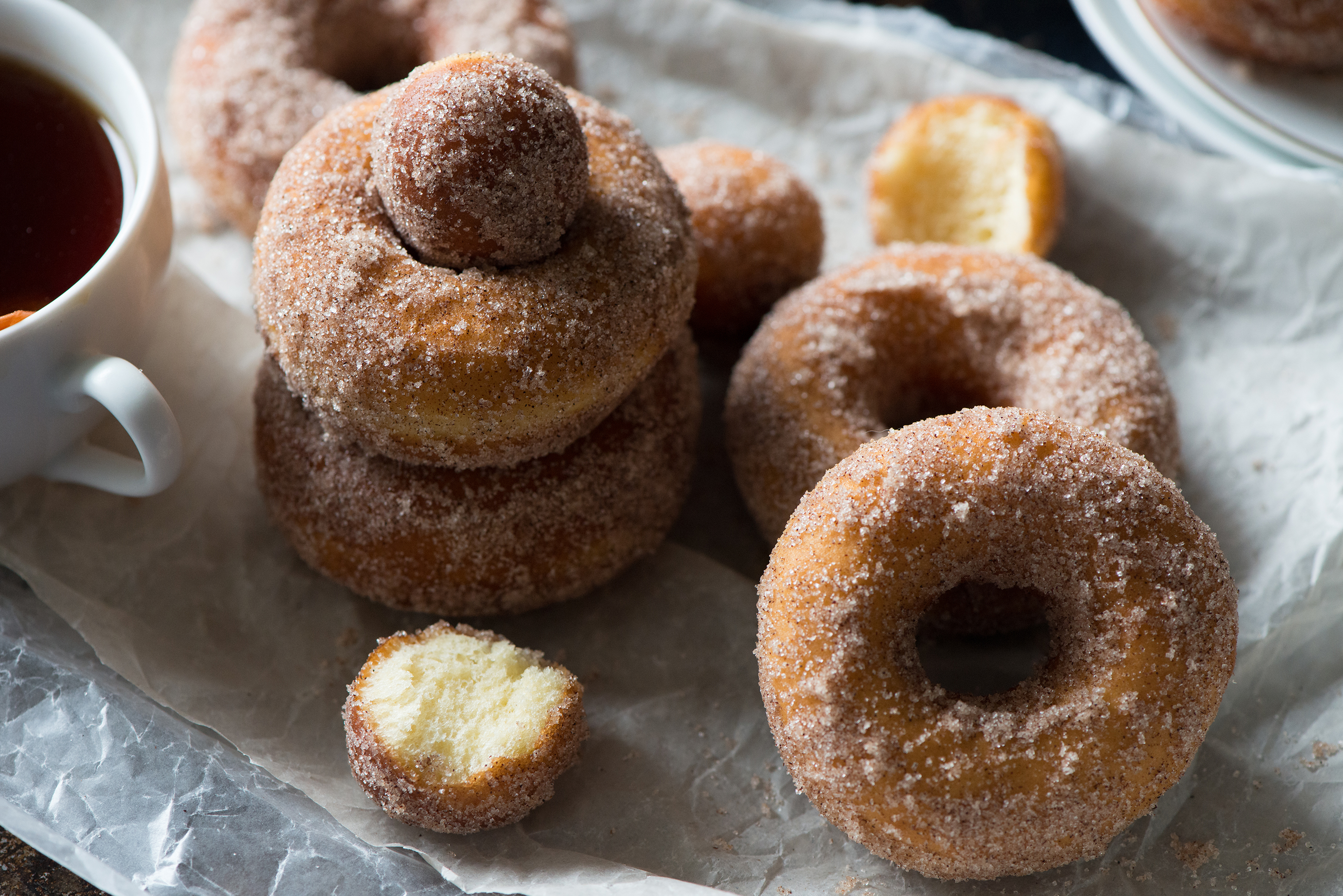 Cinnamon Sugar Doughnut | Now, Forager | Teresa Floyd Photography