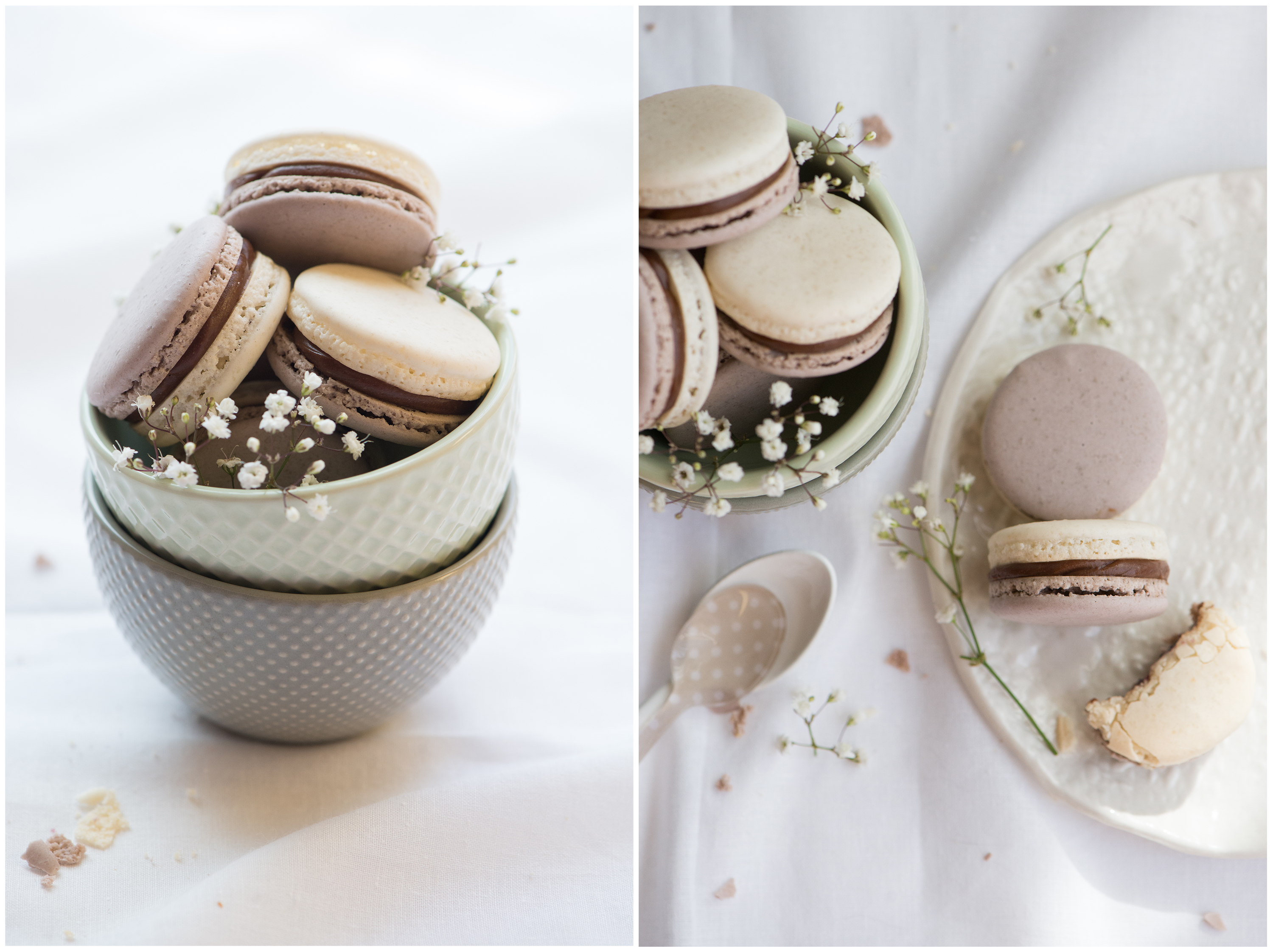 EarlGrey Cassis Macarons | Now, Forager | Teresa Floyd Photography