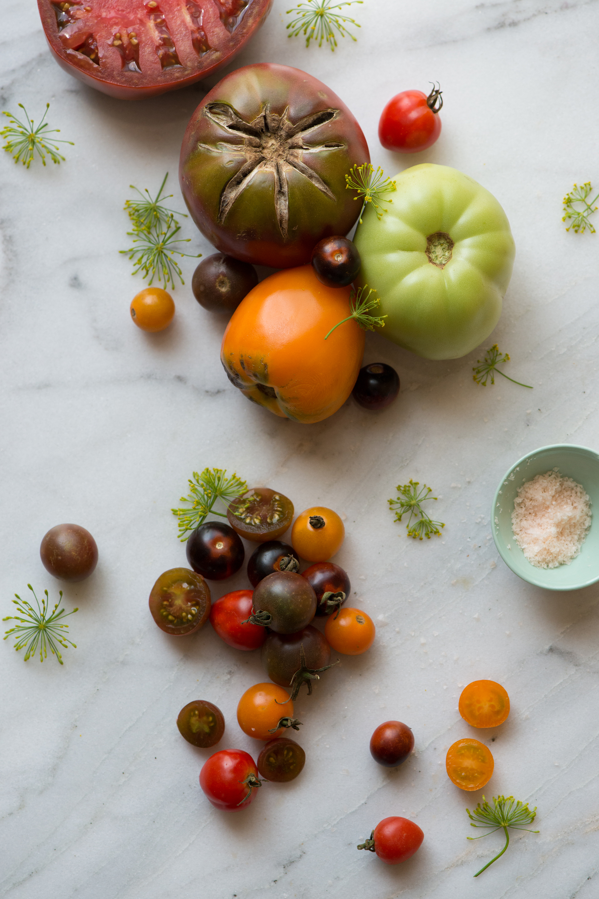 Heirloom Tomatoes | Now, Forager | Teresa Floyd Photography