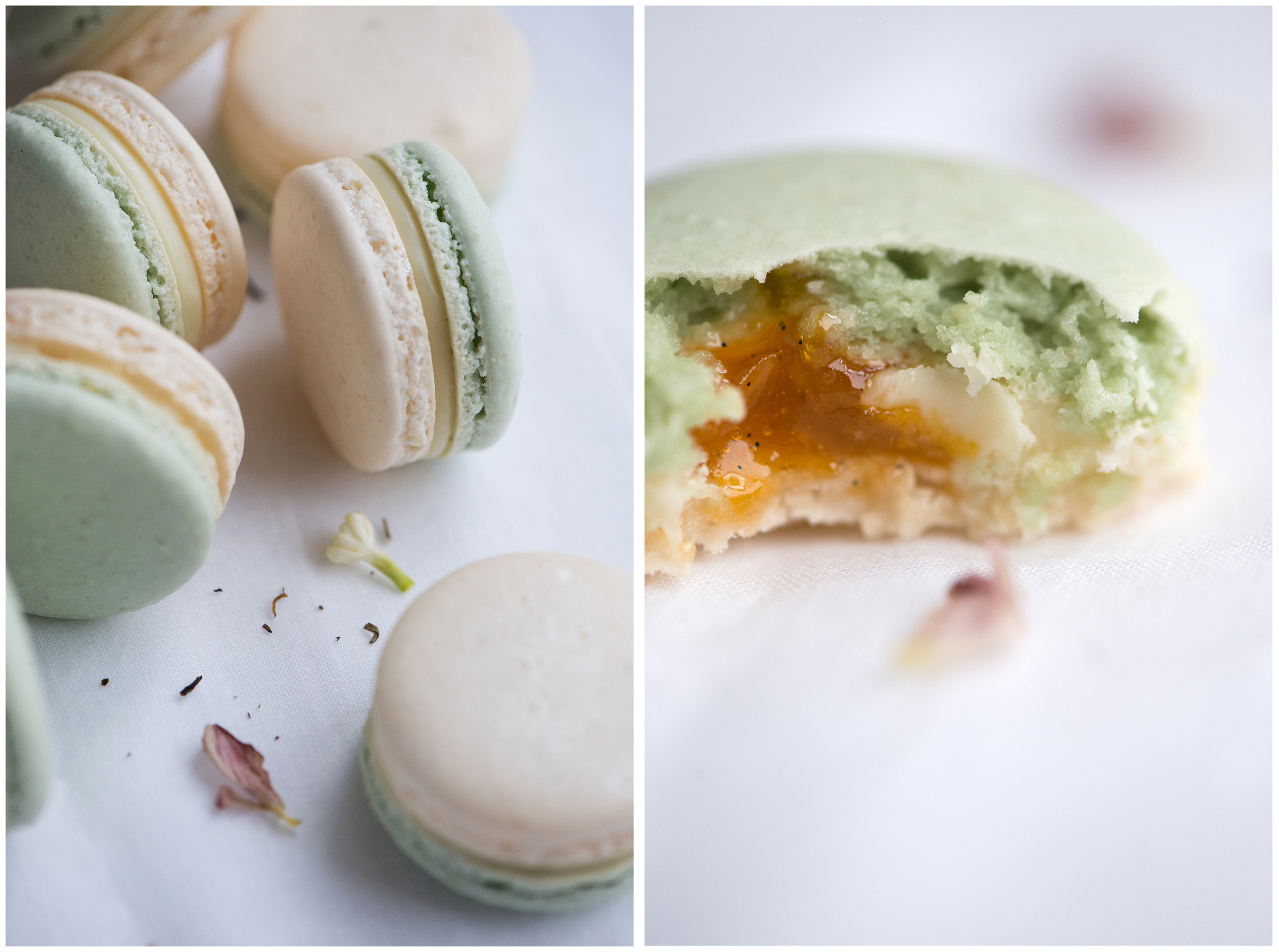 Spring Jasmine Apricot Macarons | Now, Forager | Teresa Floyd Photography
