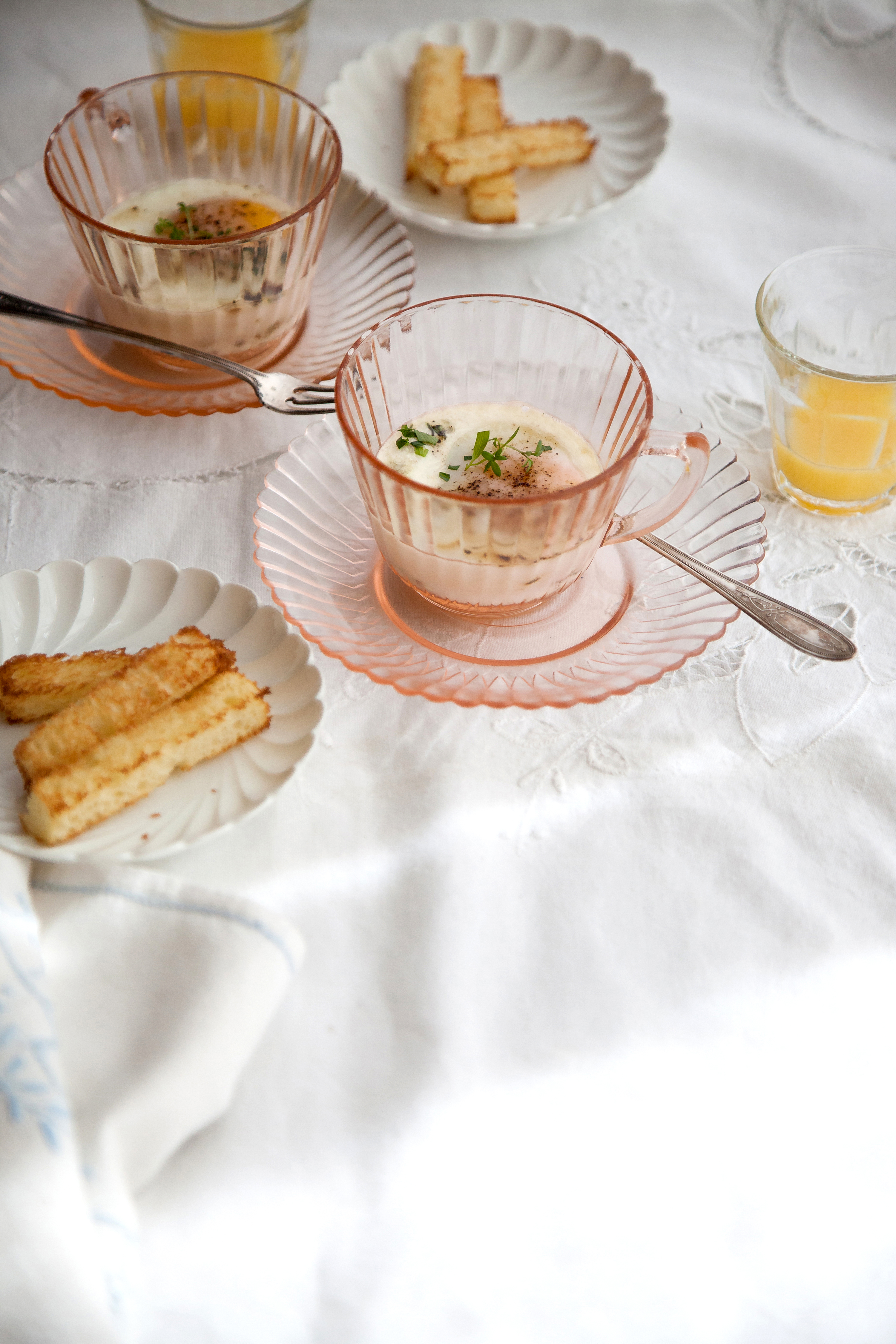 Oeufs En Cocotte   Now, Forager   Teresa Floyd Photography