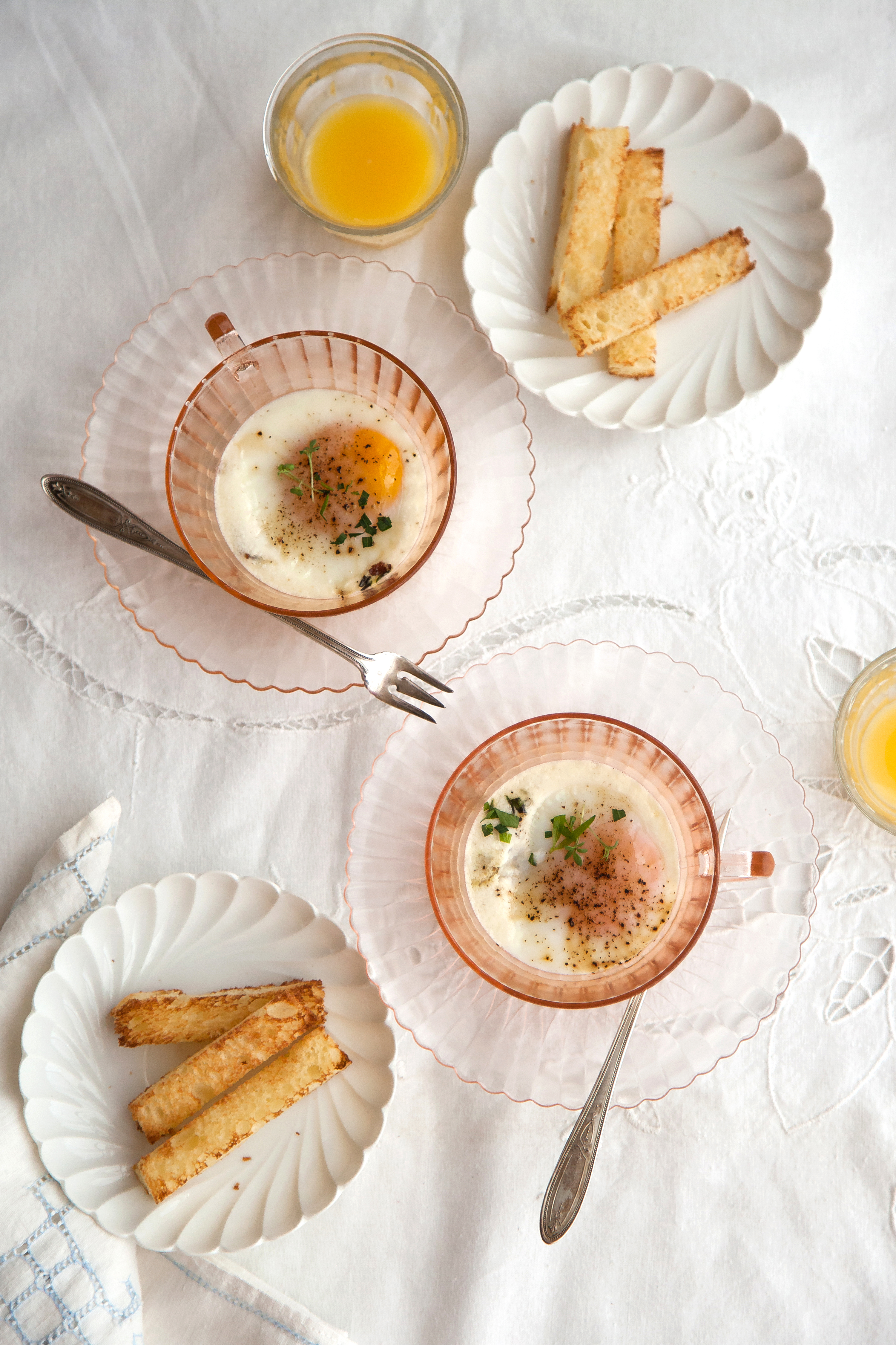 Oeufs en cocotte | Now, Forager | Teresa Floyd Photography
