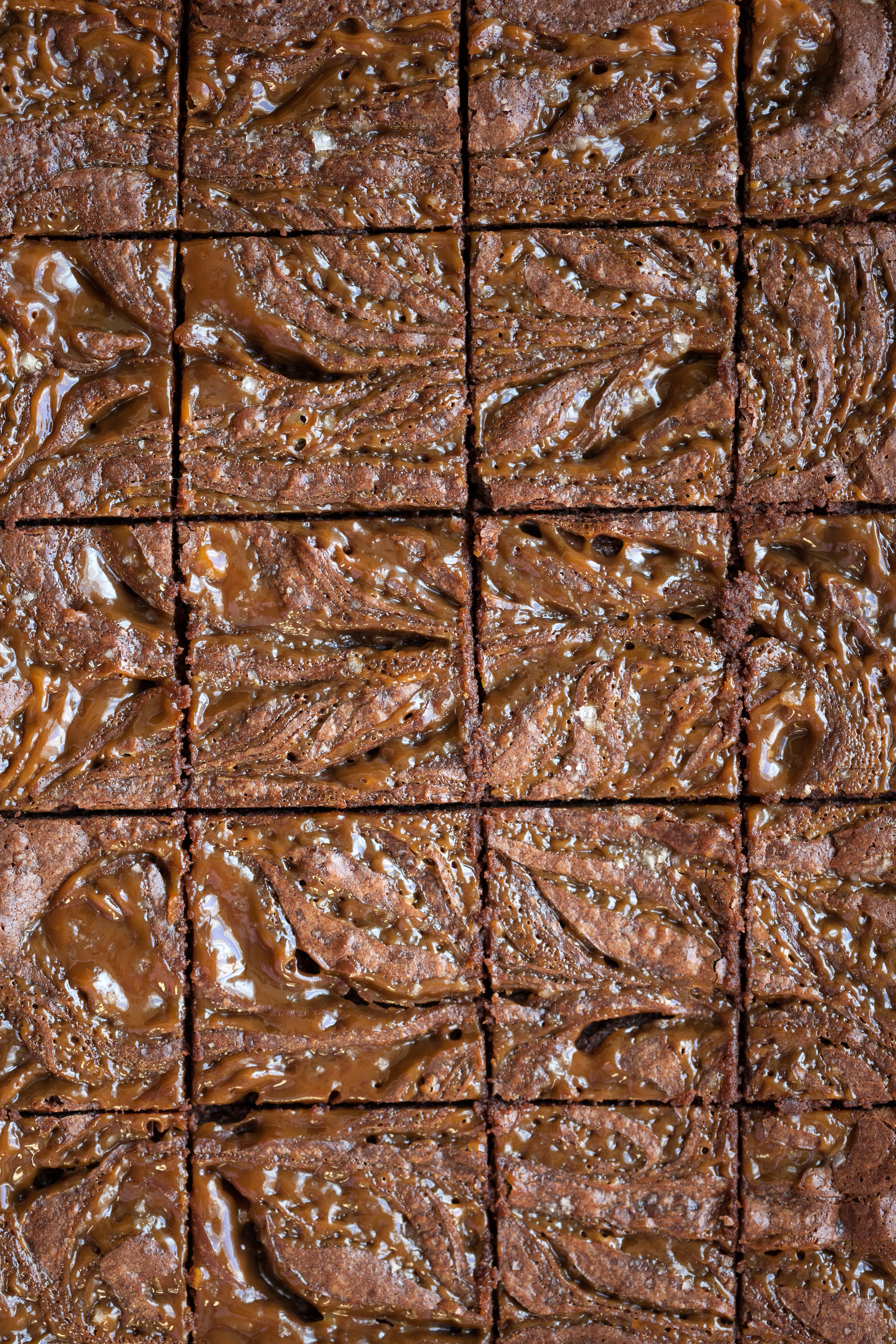 Salted Peanut Butter Caramel Brownies | Now, Forager | Teresa Floyd Photography