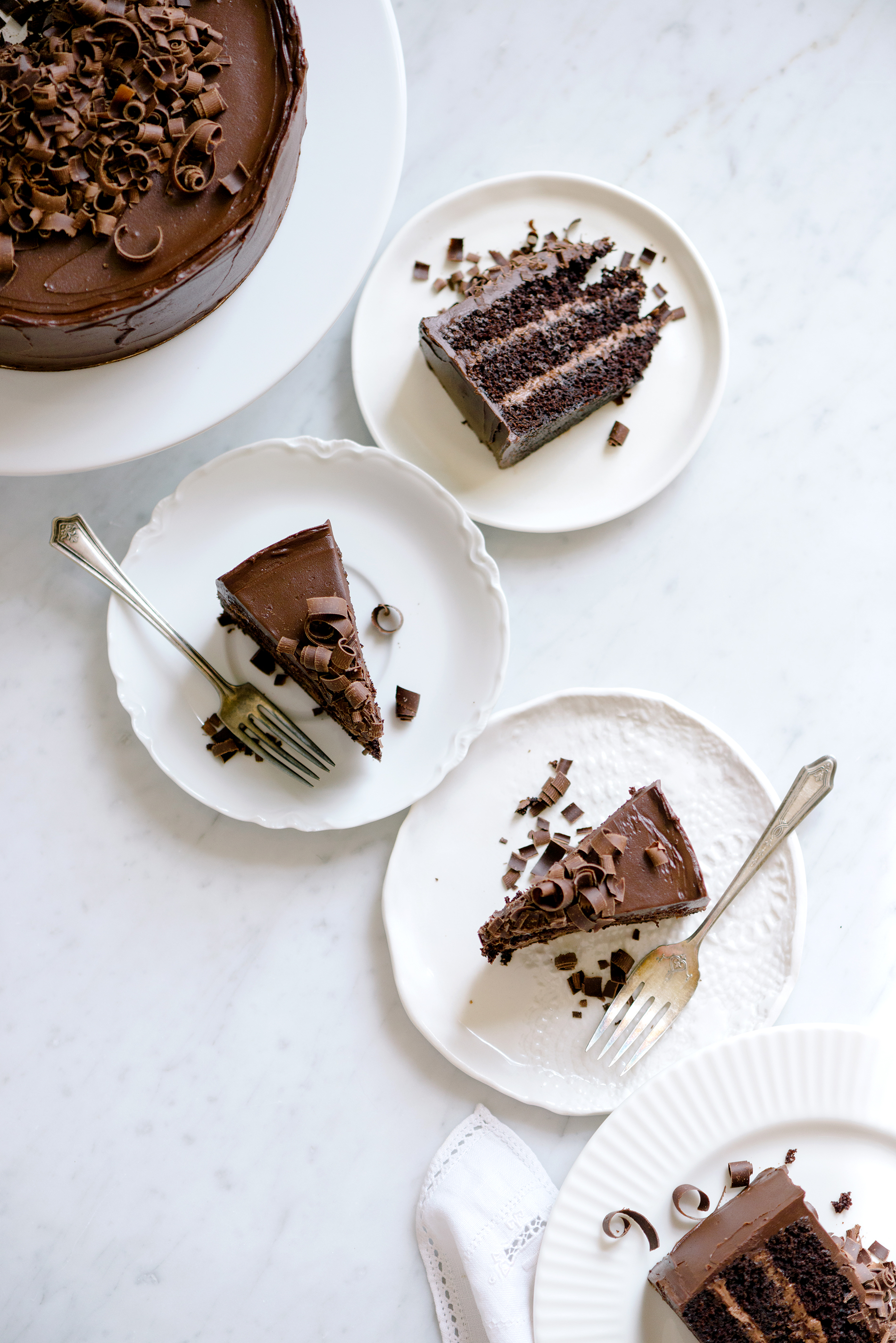 Chocolate-Ganache Celebration Cake | Now, Forager | Teresa Floyd Photography