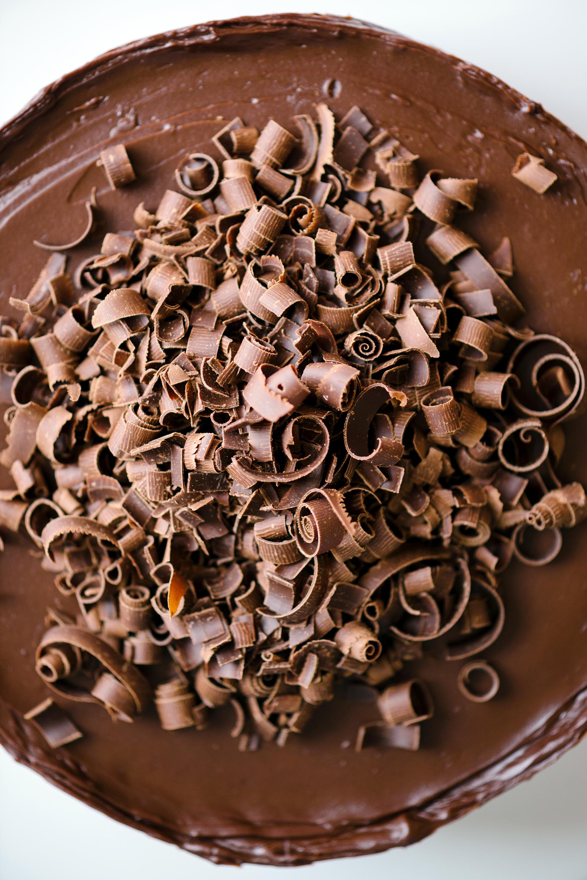 Chocolate Ganache Celebration-Cake   Now, Forager   Teresa Floyd Photography