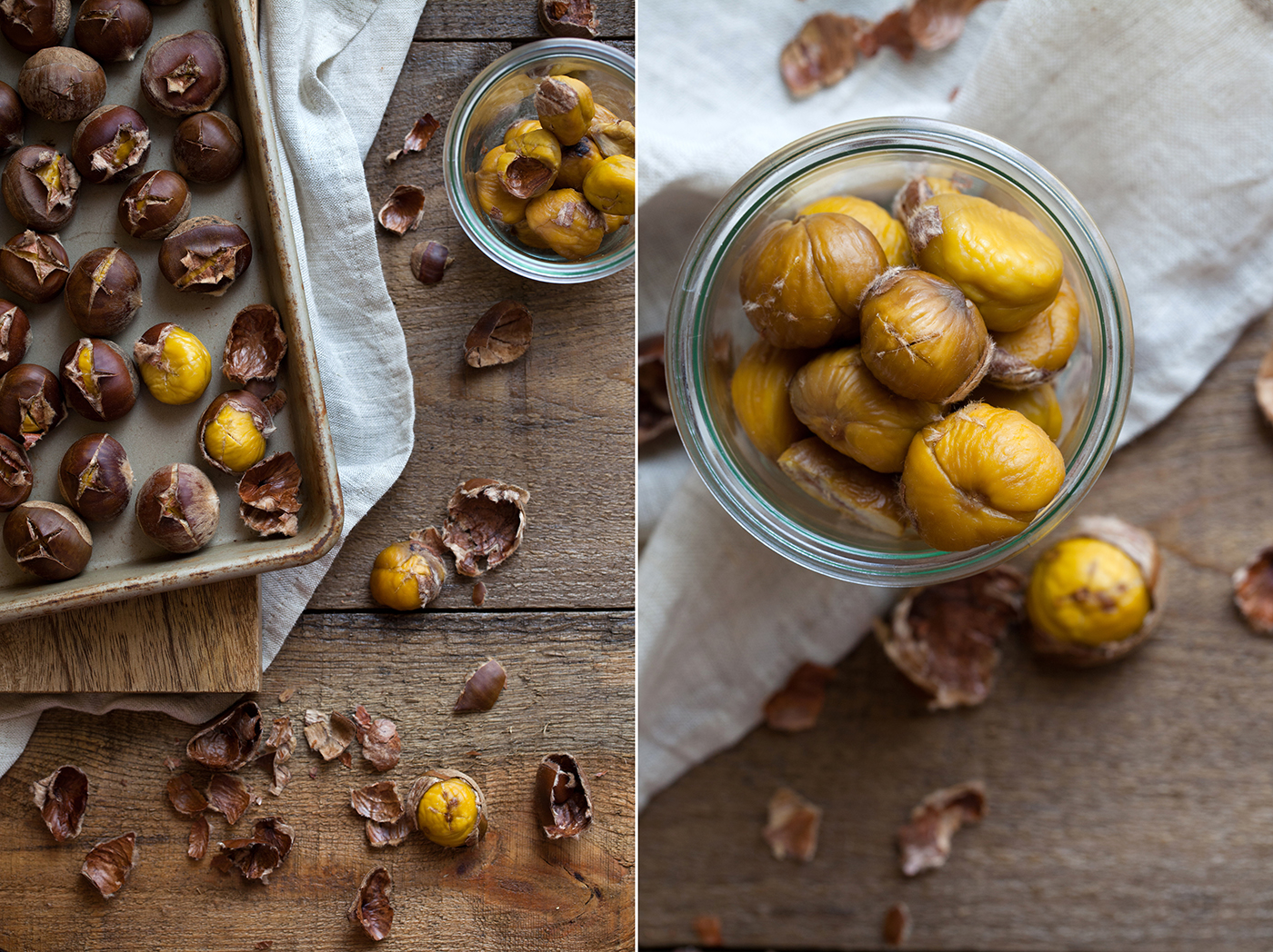 Roasted Chesnuts | Now, Forager | Teresa Floyd Photography