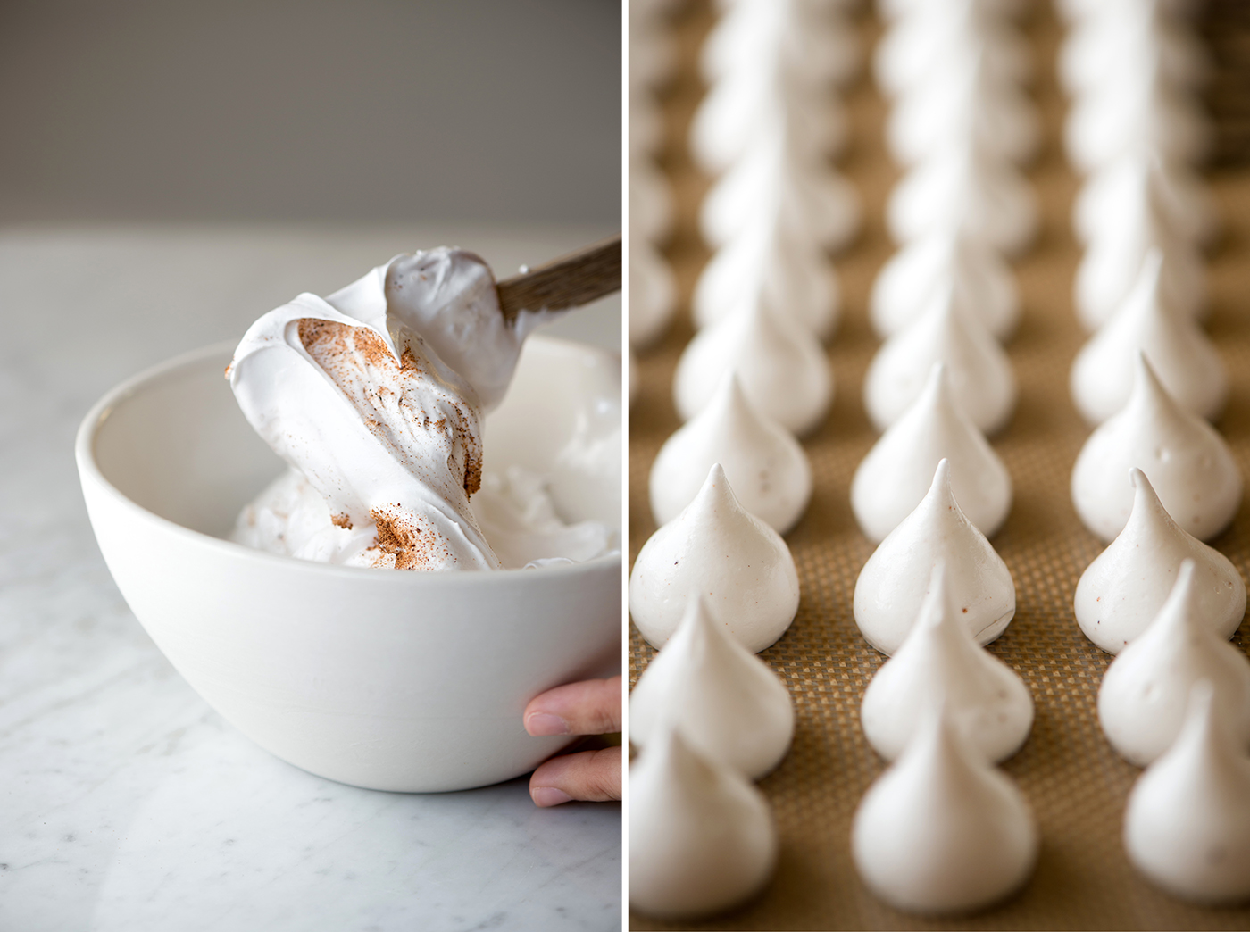 Holiday Meringues for Ghirardelli | Now, Forager | Teresa Floyd Photography