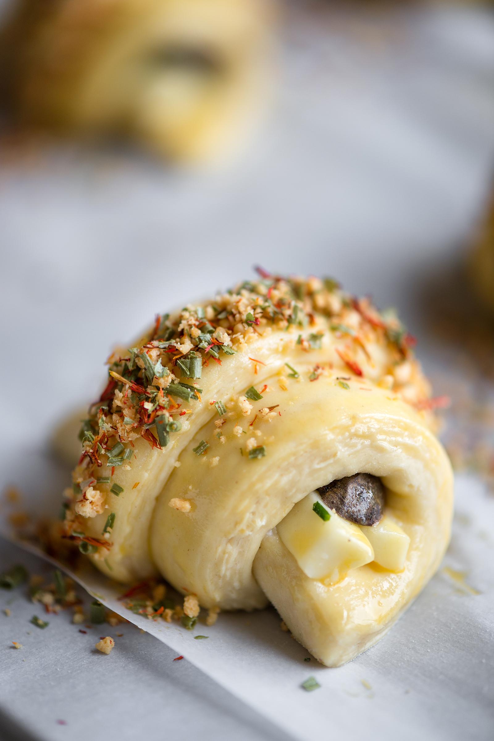 Purple Potato, Asparagus And Havarti Croissant | Now, Forager | Teresa Floyd