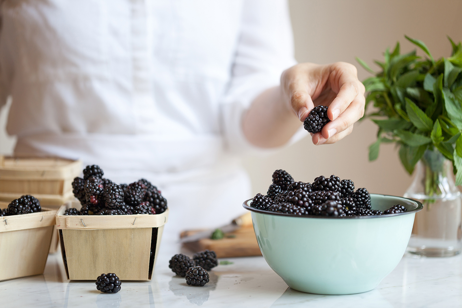 Blackberry | Now, Forager | Teresa Floyd