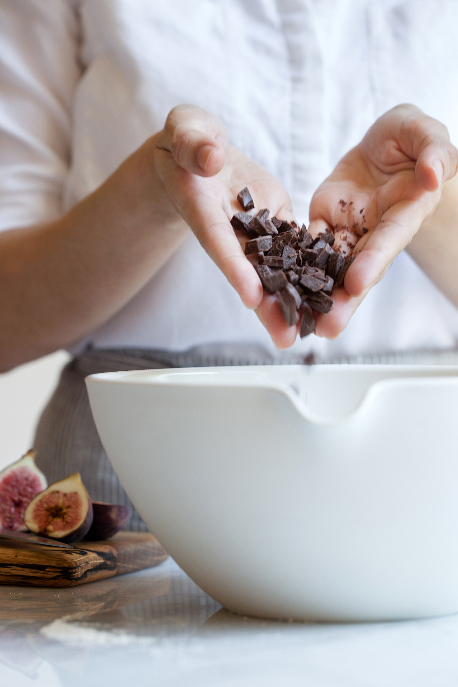 Dark Chocolate for Financiers | Now, Forager | Teresa Floyd