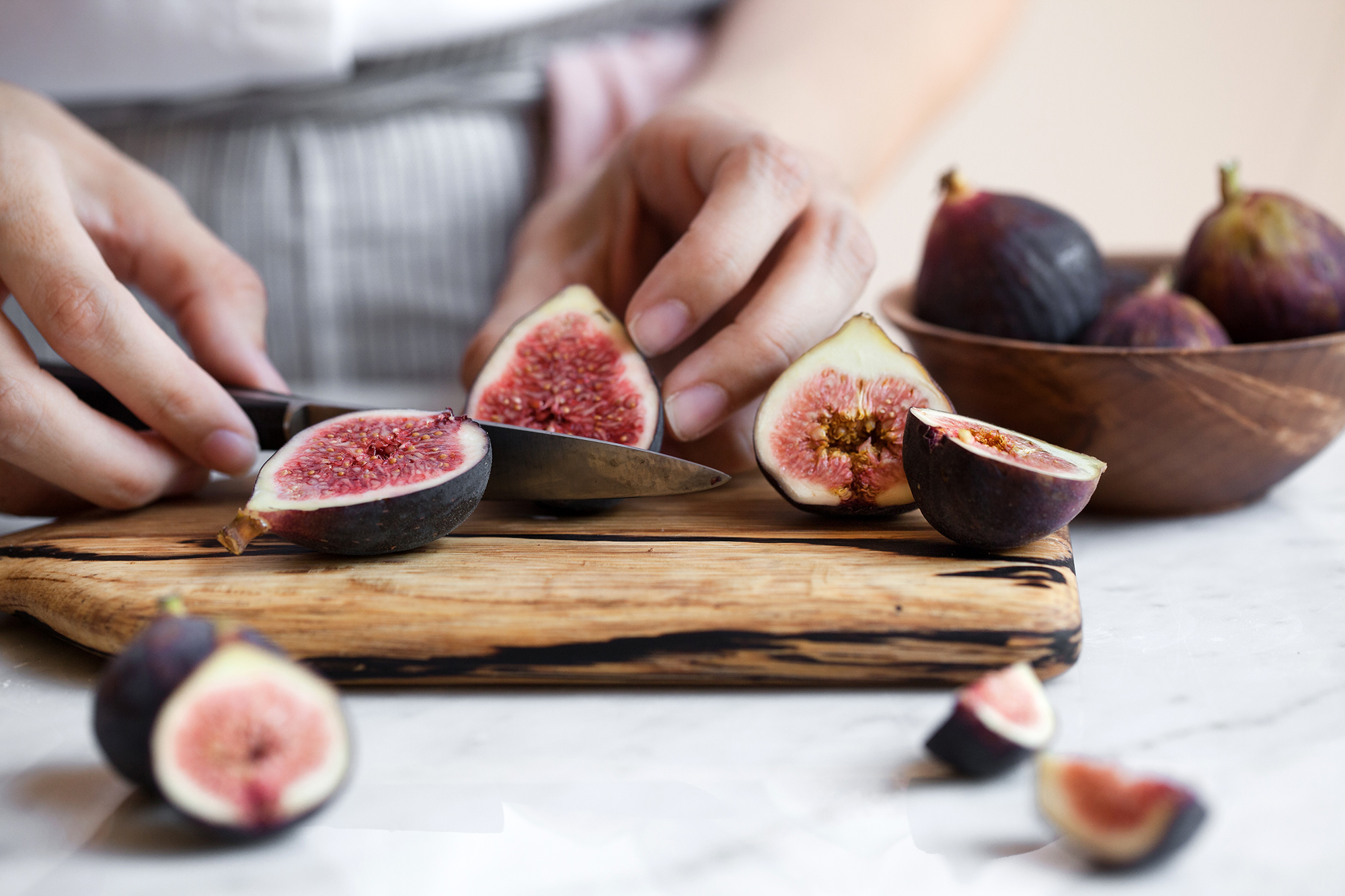 Fig, Dark Chocolate, & Almond Financiers | Now, Forager | Teresa Floyd