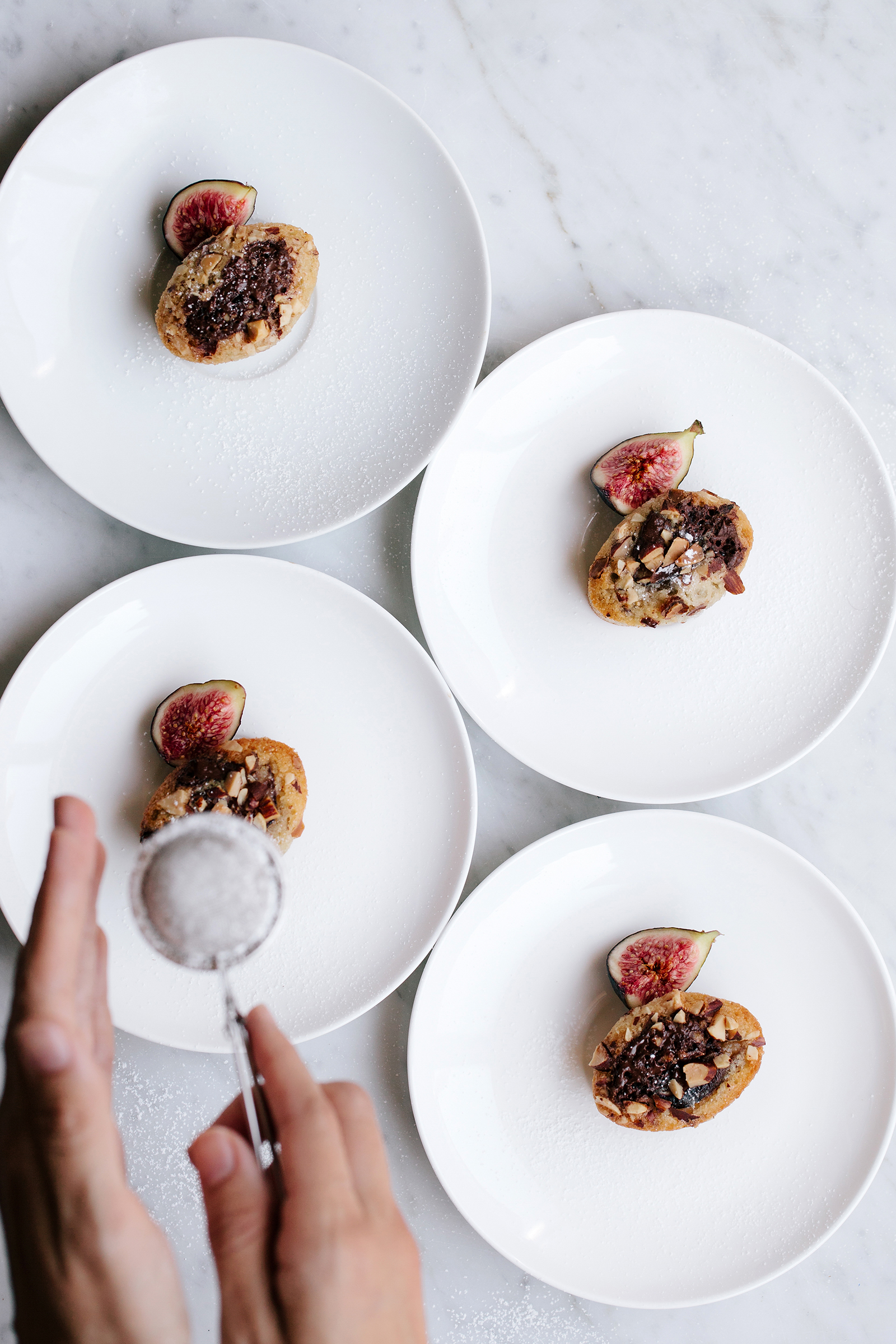 Fig, Dark Chocolate & Almond Financiers | Now, Forager | Teresa Floyd Photography