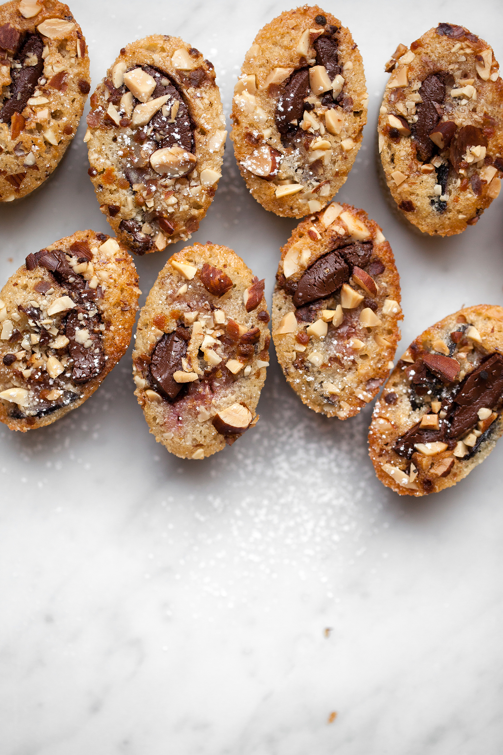 Fig, Dark Chocolate & Almond Financiers | Now, Forager | Teresa Floyd