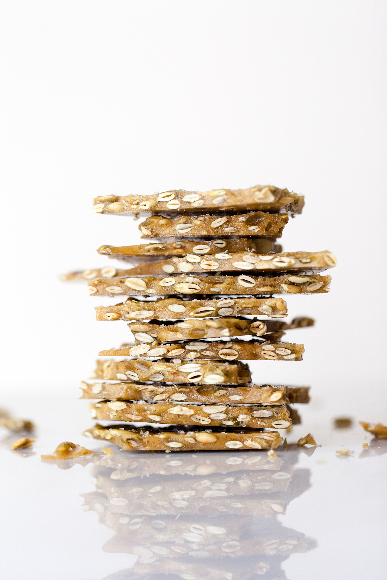 Spiced Pepita Brittle | Now, Forager | Teresa Floyd