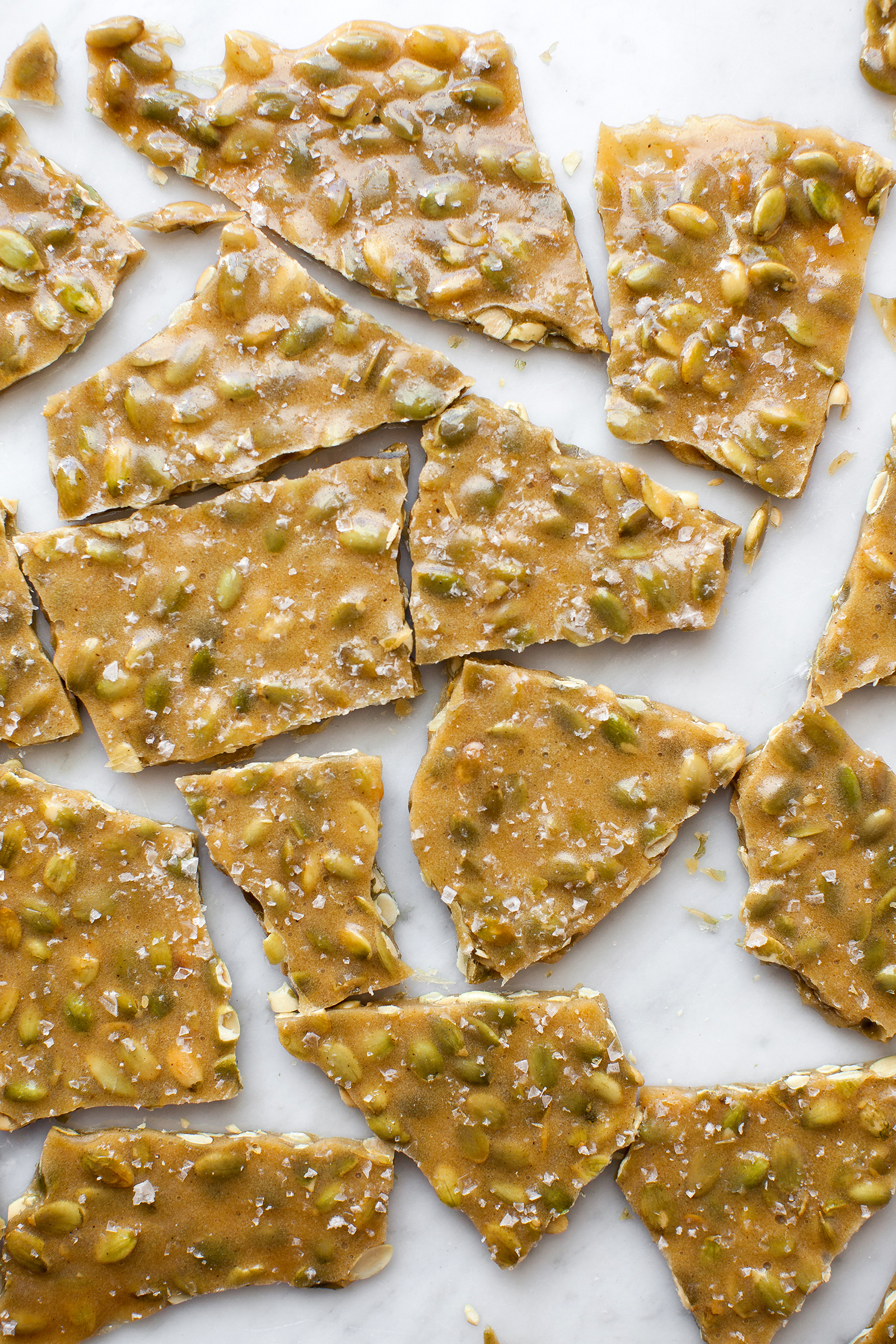 Spiced Pepita Brittle for Simply Organic + feedfeed | Now, Forager | Teresa Floyd