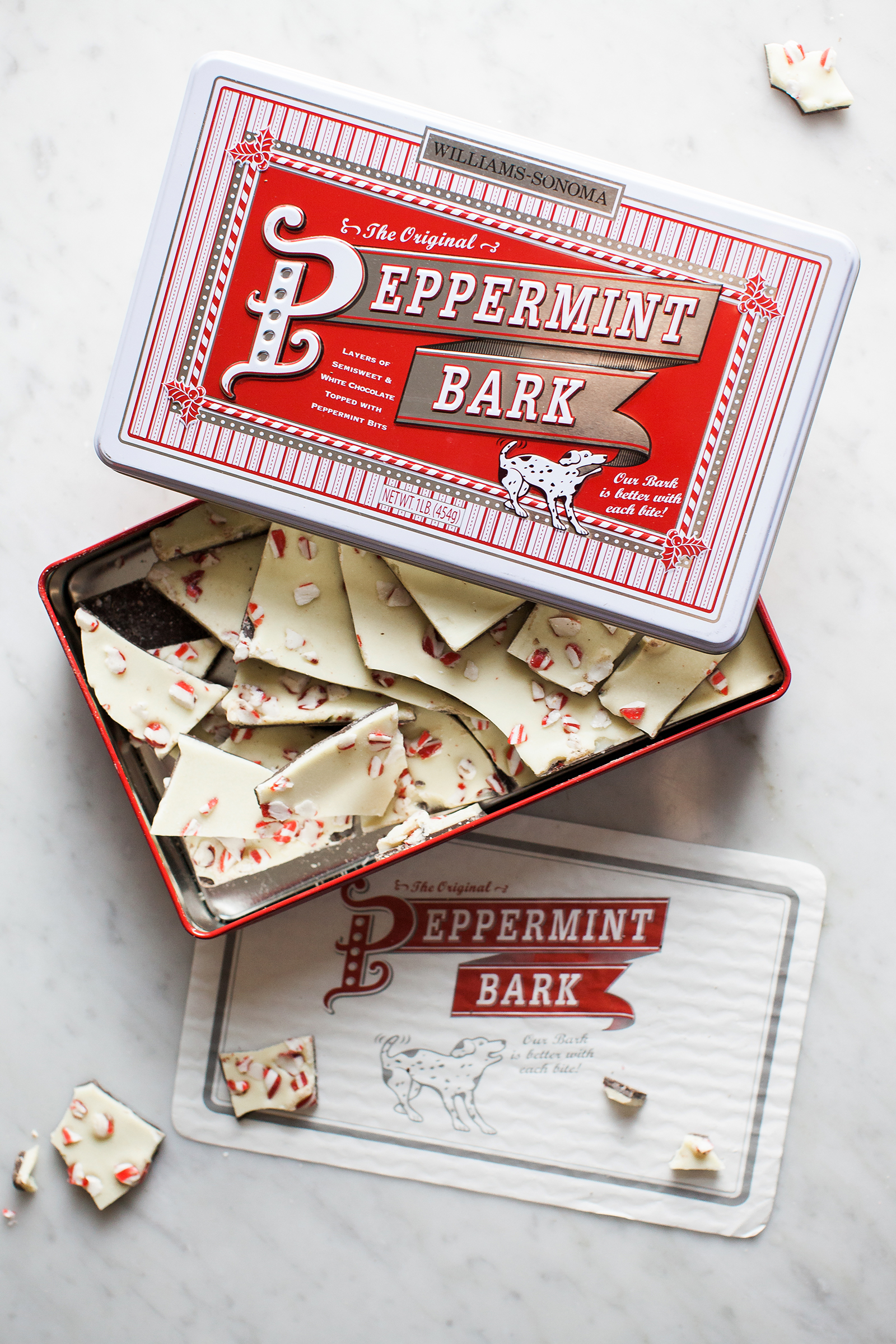 Williams-Sonoma Peppermint Bark | Now, Forager | Teresa Floyd