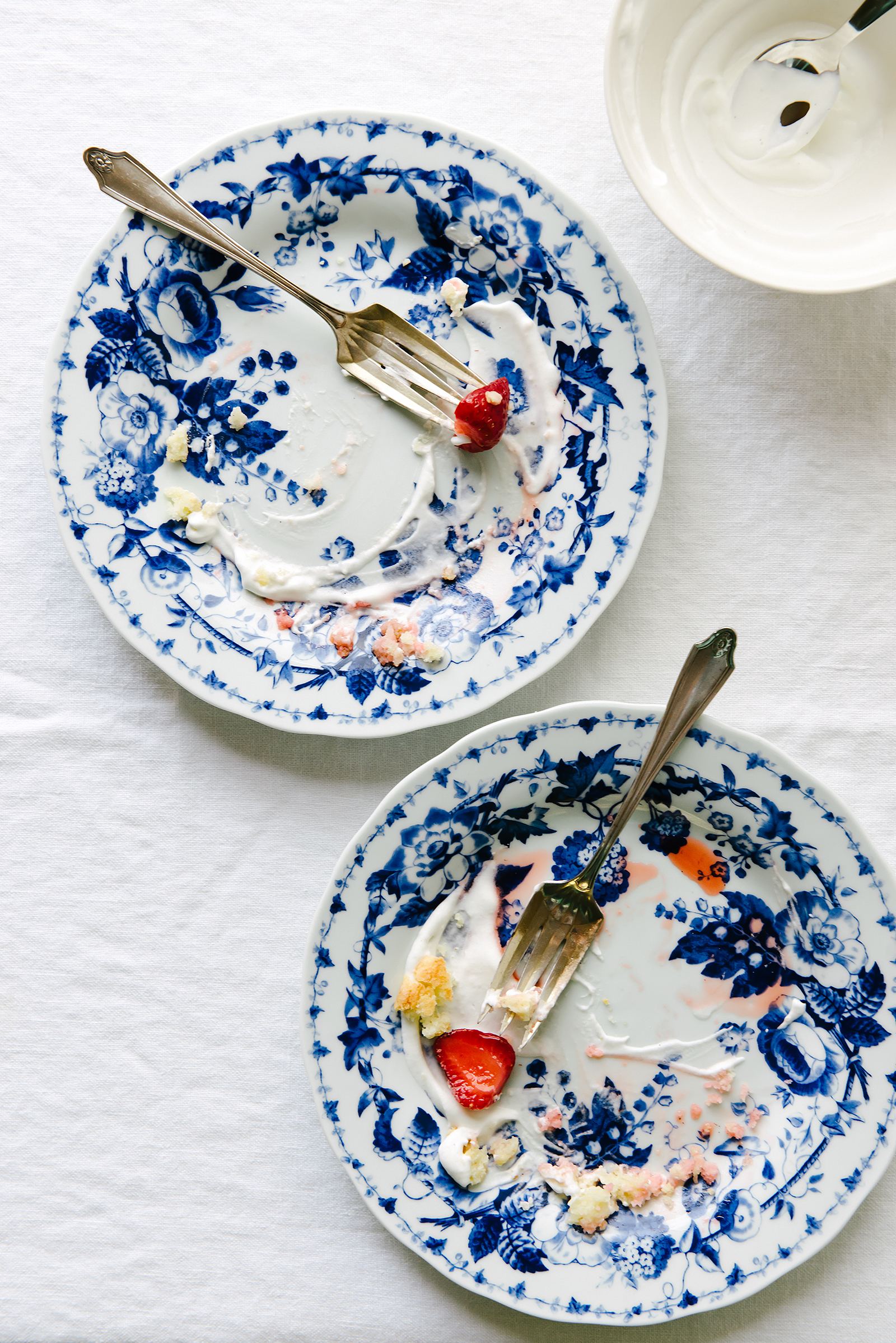 Eaten Roasted Strawberry Thyme Shortcake | Now, Forager | Teresa Floyd