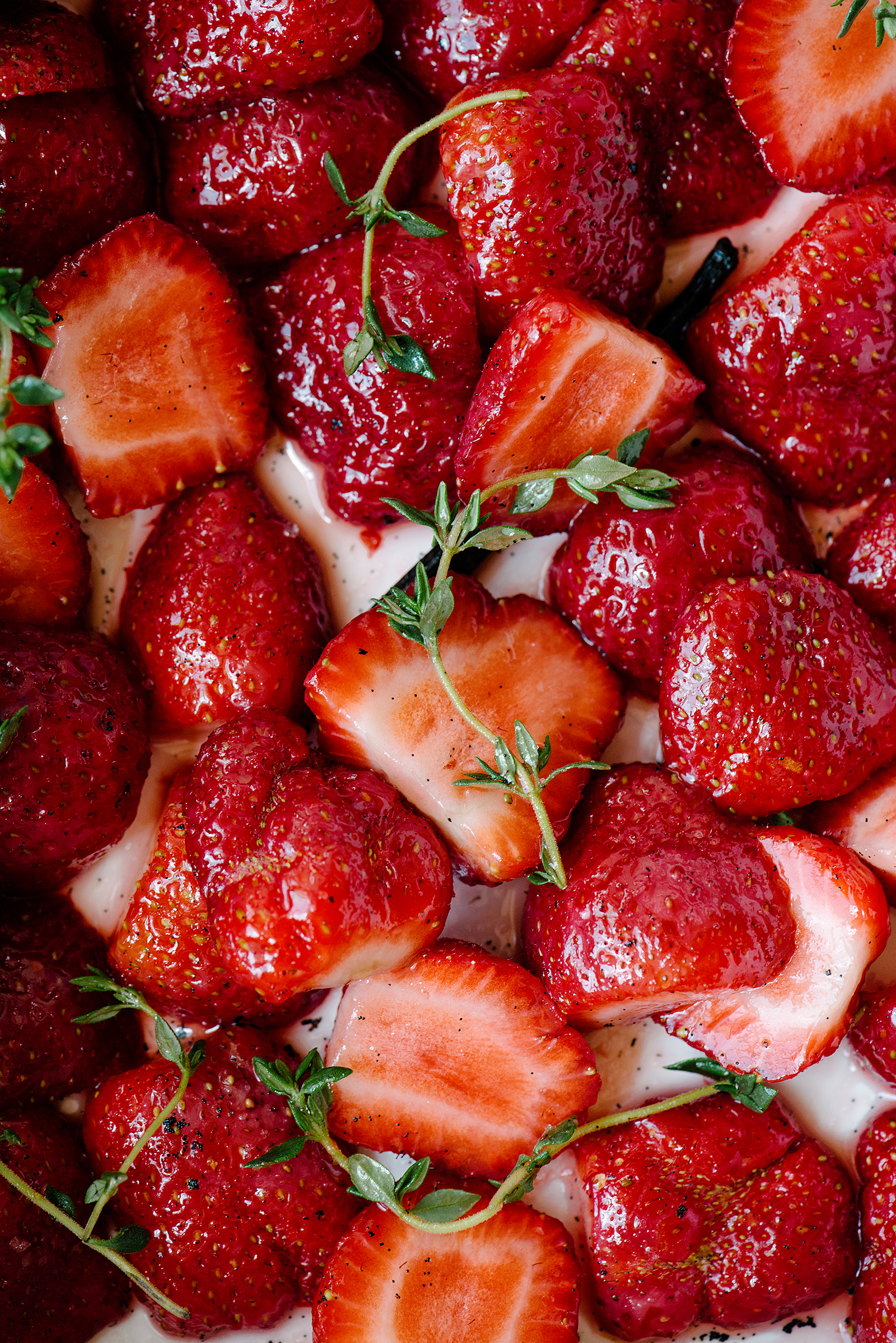 Thyme Strawberries | Now, Forager | Teresa Floyd
