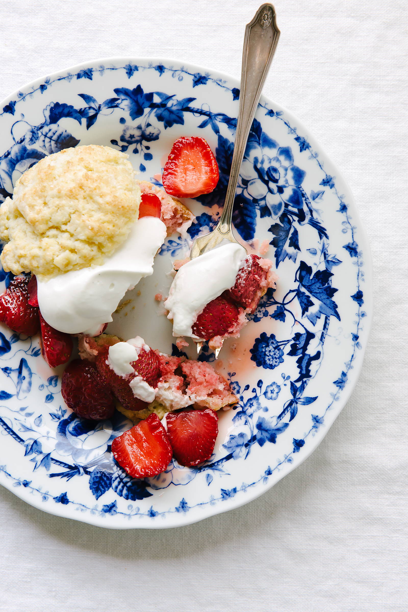 Roasted Strawberry Thyme Shortcake | Now, Forager | Teresa Floyd