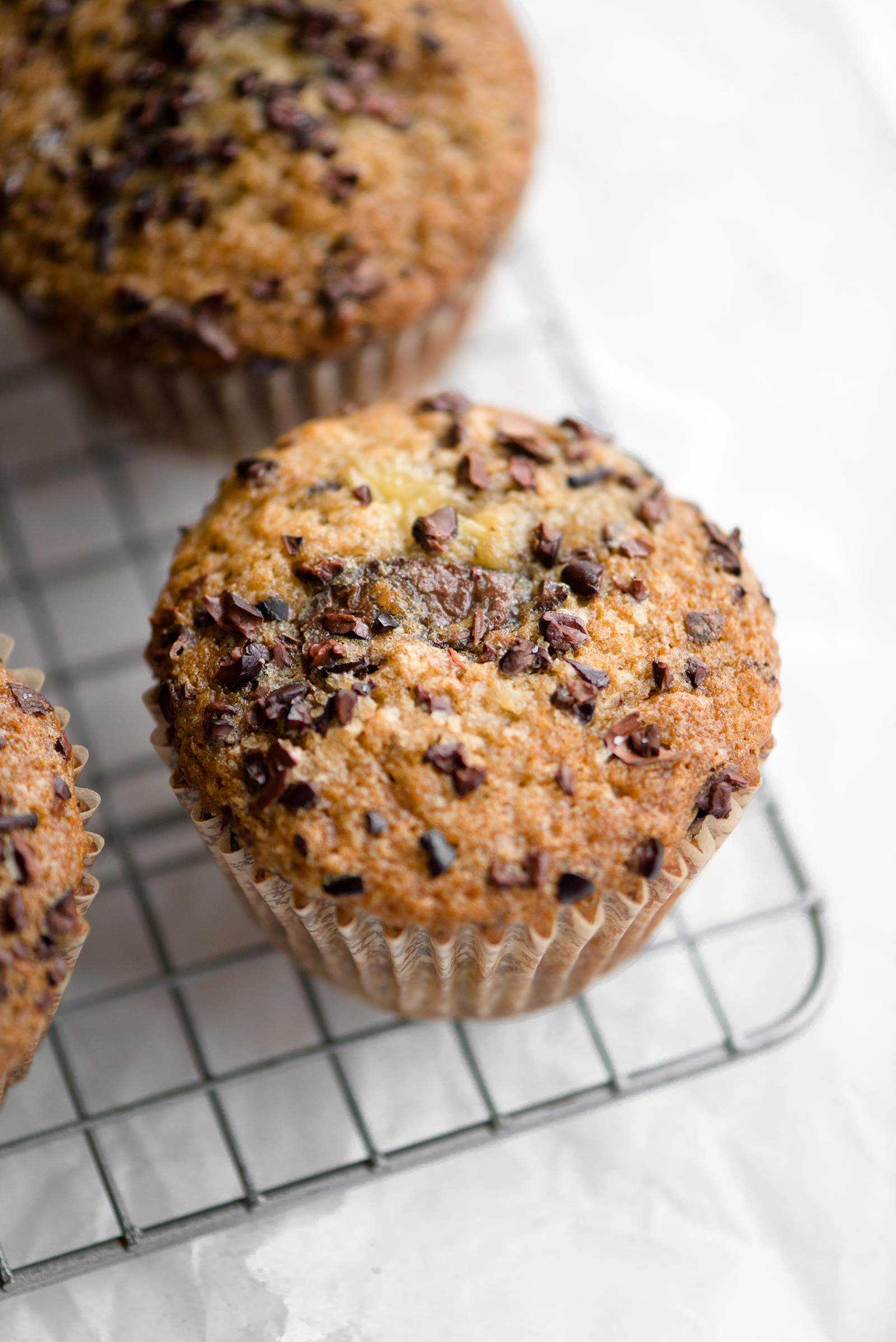 Banana Chocolate Nib Muffins | Now, Forager | Teresa Floyd